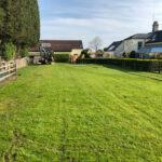 Garden area before tennis court - Norwich, Norfolk
