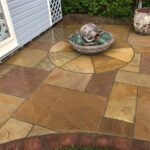 Wet Rippon patio - Norwich