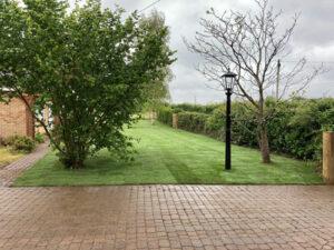 New turf laid - Norwich