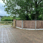Closeboard fencing and gate - Norwich
