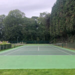 Tennis court repainted - Norwich