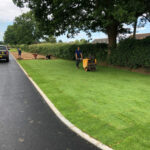 Laying new turf - Norwich