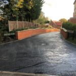 Tarmac roadway - Norfolk